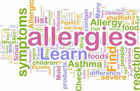 <p>An&nbsp;<b>allergy is cause...