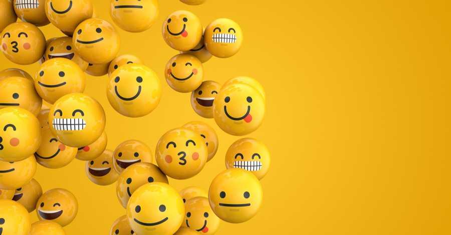 The start of emojis