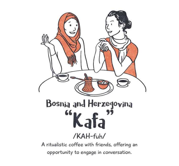 Bosnia & Herzegovina: 'kafa'