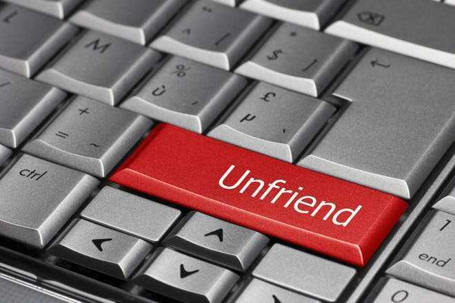 Social media stalking your ex