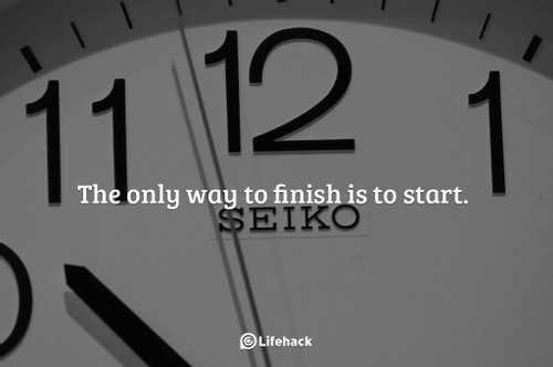 10 Essential Tips To Finish What You Start
