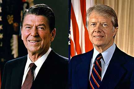 1980 — Reagan v. Carter