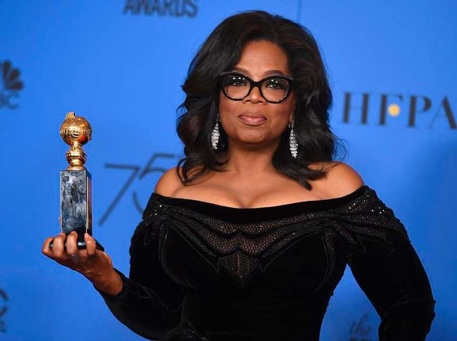 Oprah's presentation technique