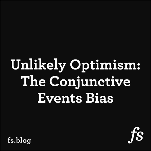 Unlikely Optimism: The Conjunctive Events Bias