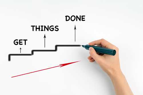 The best predictor of getting things done