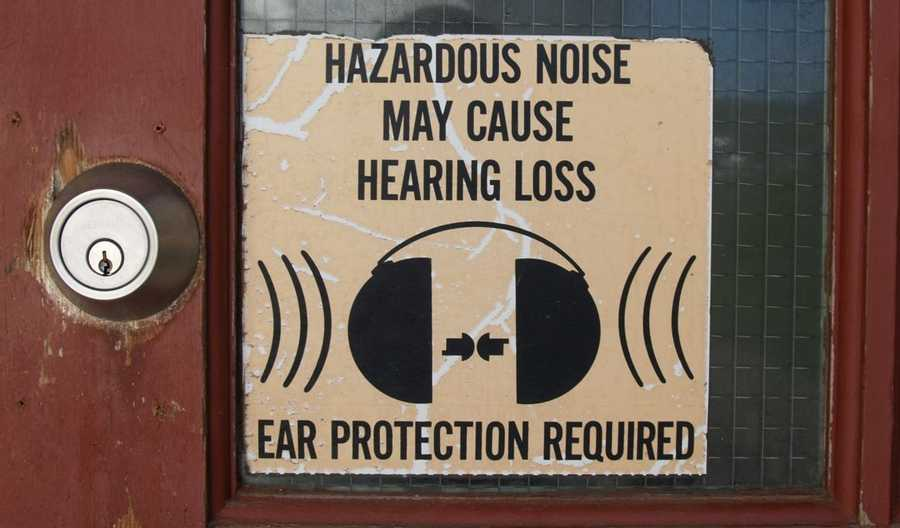 Noise is bad for health