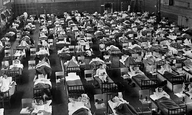 1957: Asian flu