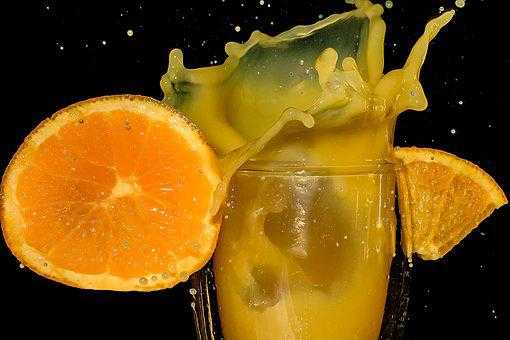 Orange Juice Is Heavy In Sugar