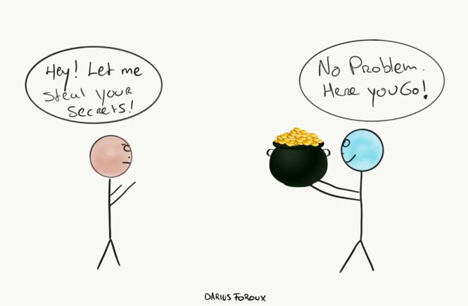 <p><i>Everyone pretends that t...
