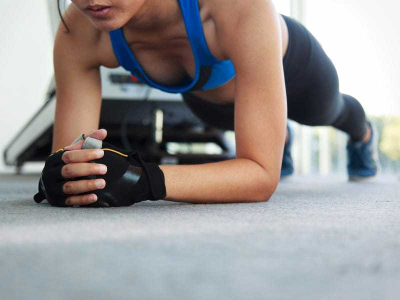 A HIIT circuit (beginners and advanced)