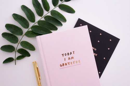 Keep a gratitude journal