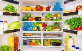 Refrigerating produce