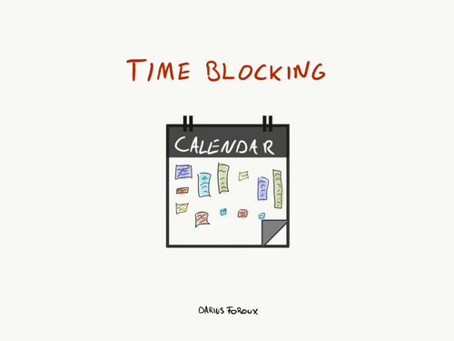 Time Blocking: Improve Your Focus And Get More Meaningful Work Done