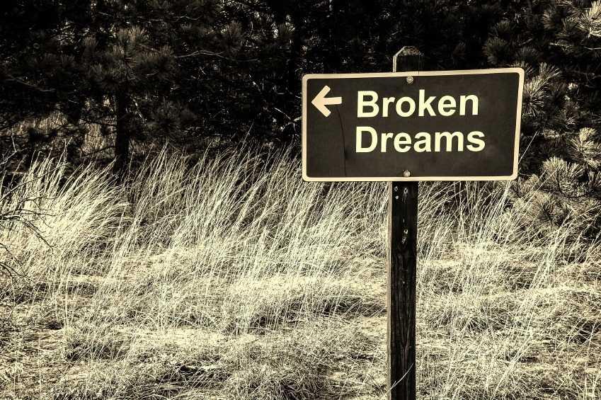 When lifelong dreams crumble