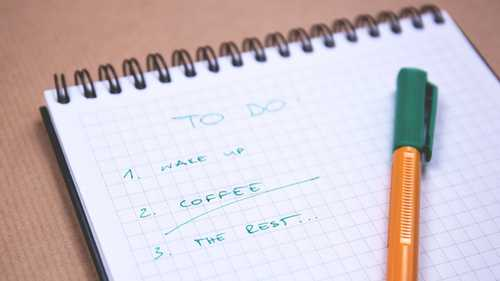 Create a Not-to-Do List
