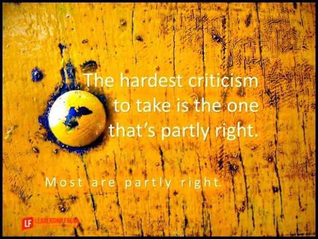 5 dangers of criticism