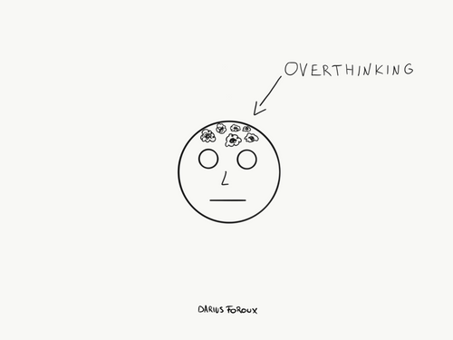 How To Get Rid Of The Thoughts That Are Clogging Your Brain - Darius Foroux