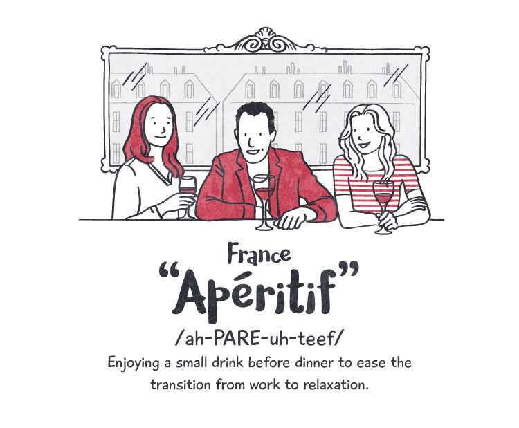 France: 'aperitif'