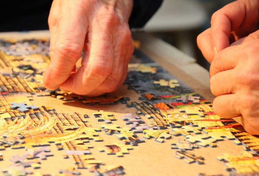 Jigsaws began as dissected maps