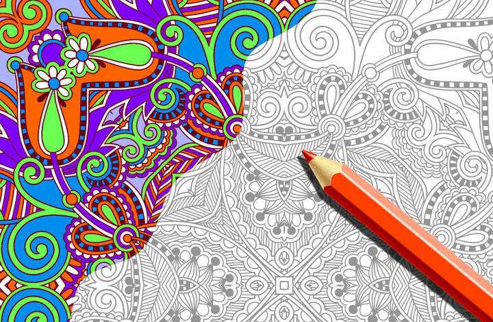 The benefits of coloring books