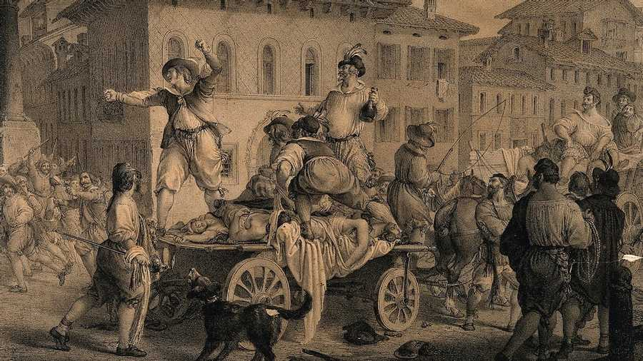 1665: The Great Plague of London