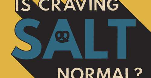 There's A Reason Why You Might Crave Salt More Than Others