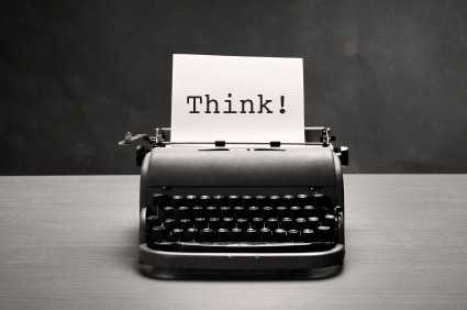 Writing to think, or writing to discover your thoughts