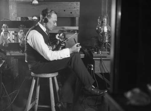 100 years ago, the first commercial radio broadcast announced the results of the 1920 election – politics would never be the same