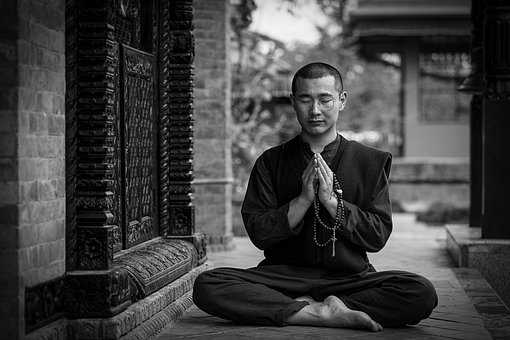 Self-improvement through meditation is not the objective