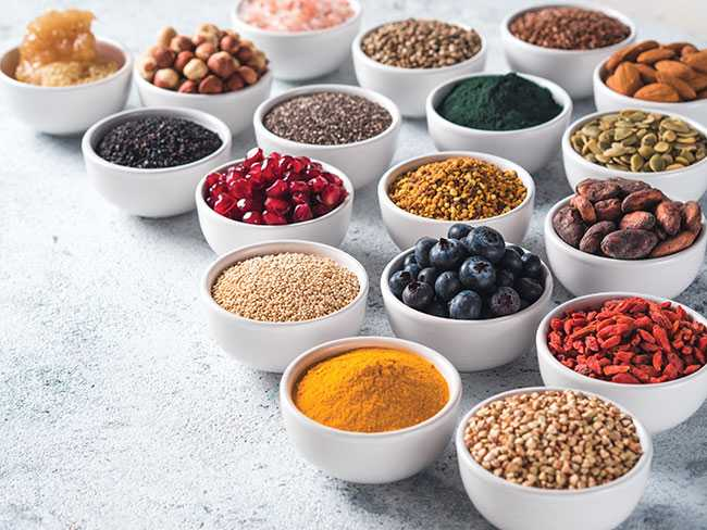 Recently Marketed Superfoods