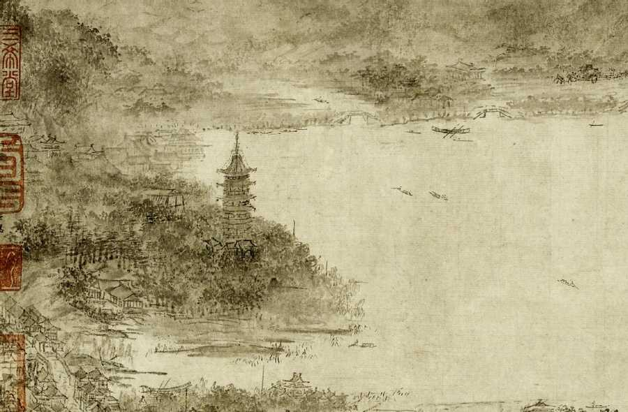 Hangzhou in 12th century CE China