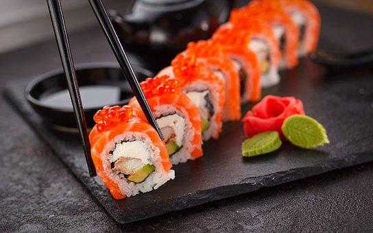 The discovery of sushi