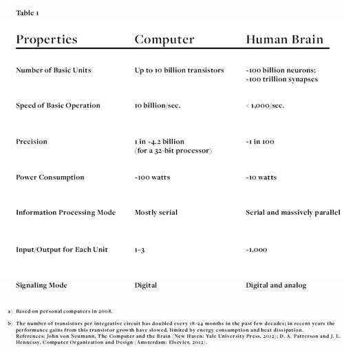 Why Is the Human Brain So Efficient?