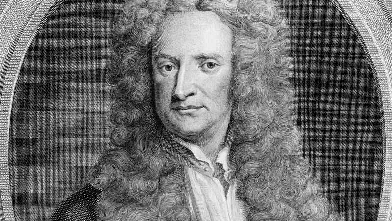 Isaac Newton's productivity