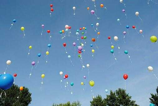 Why we celebrate with balloons