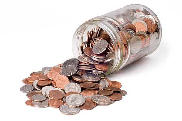 Collect Change To Give Away