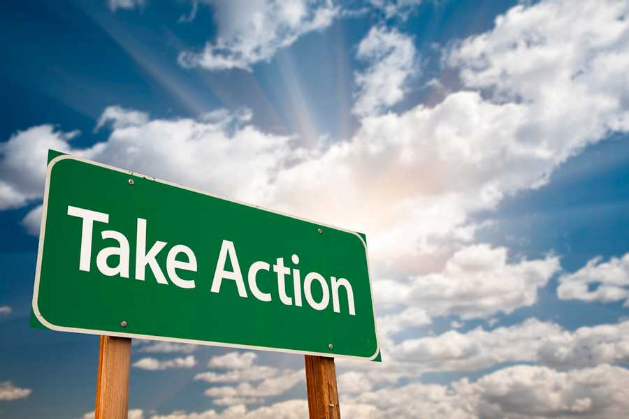 Commit to taking action