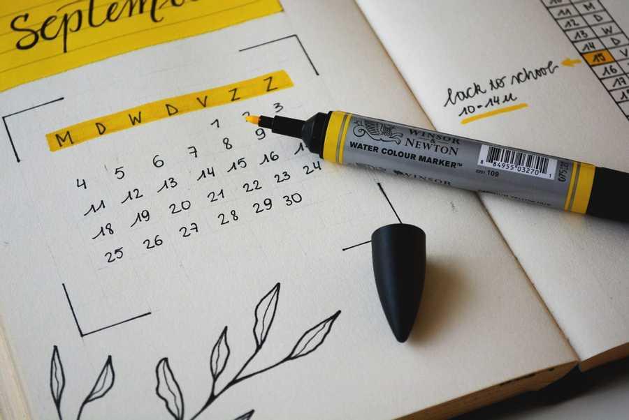 Work From the Calendar
