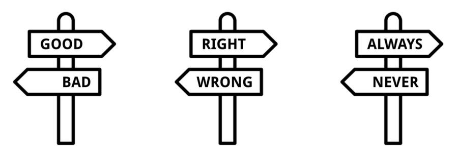 Nuanced Thinking Vs Polarized Thinking