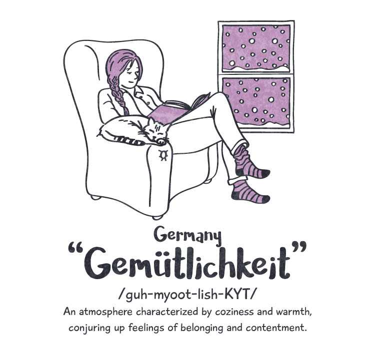 Germany: 'gemütlichkeit'