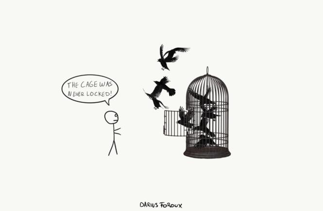 Unfree in a Free World
