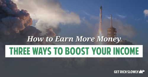 How to earn more money: Three ways to boost your income