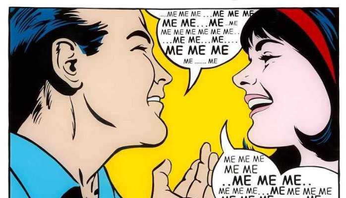 Conversational Narcissism