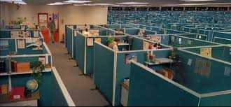The office cubicle