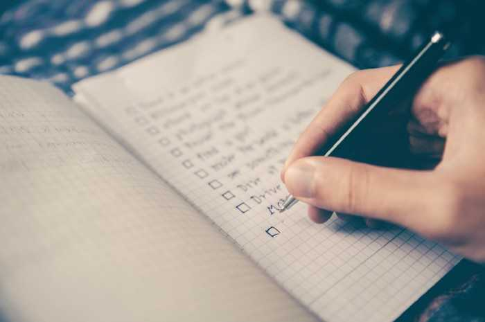 Reduce your goals & to-do list
