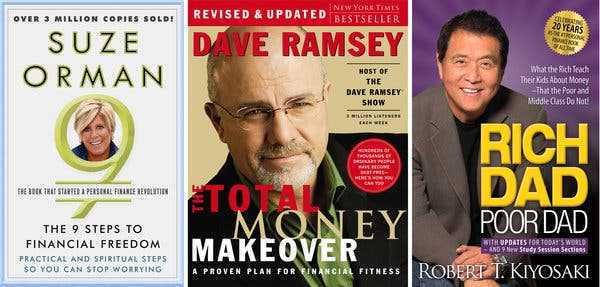 Popular Personal Finance Books are Inspirational