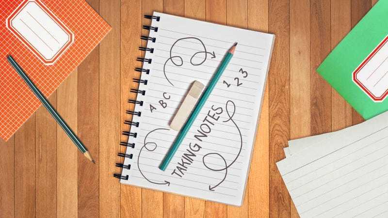 Purpose of taking notes