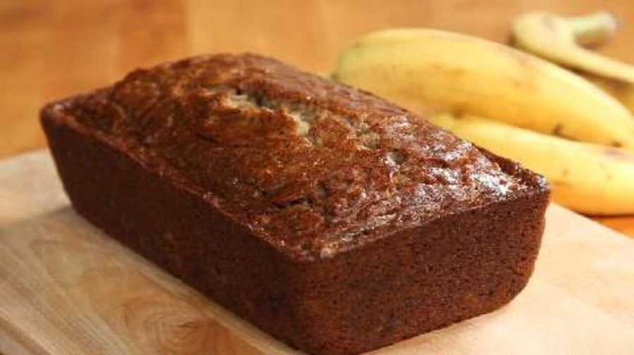 Banana bread is a favorite